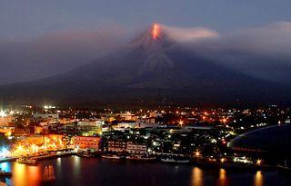 Mayon lava