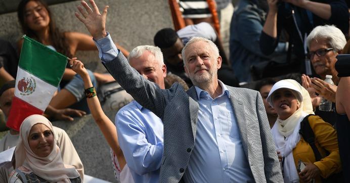 corbyn-london-trump-protest-better-world